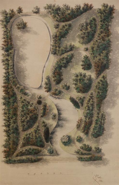 Ontwerp van de Plantage in Culemborg